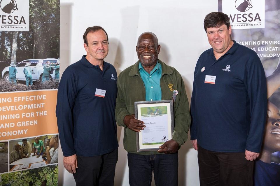 WESSA CEO, Mdiceni Gumede Lifetime achievement and Chairman