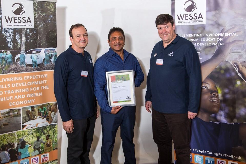 WESSA CEO, Leslie Naidoo of Vergelegen and Chairman