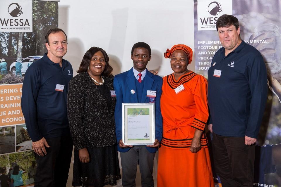 WESSA CEO, Chairman, Ziphenzihle Langa with Mrs Langa and Mrs Magaya